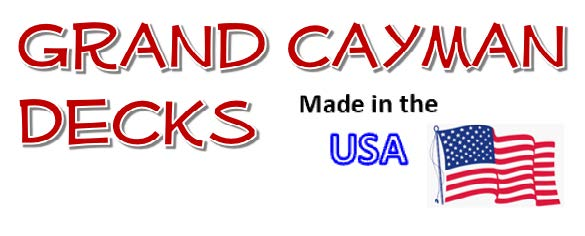 Grand Cayman Decks - Made in the USA